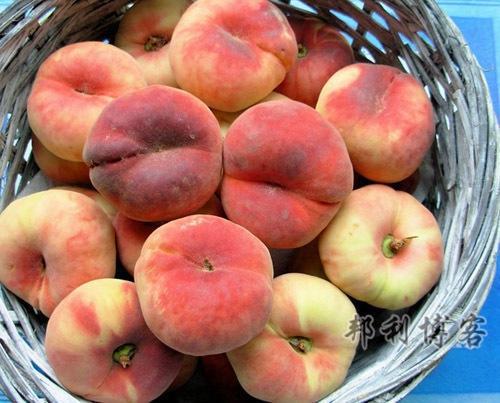 英国的水果-Flat Peaches(蟠桃)