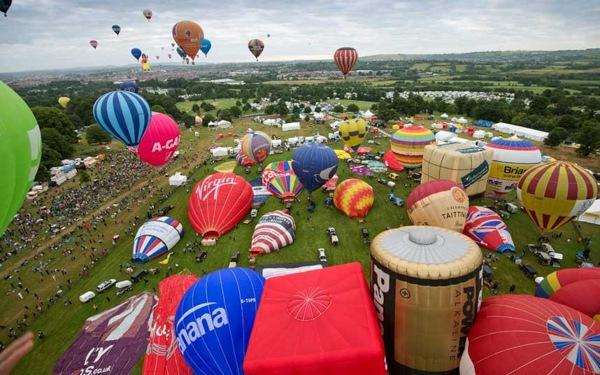 2014布里斯托国际热气球节
