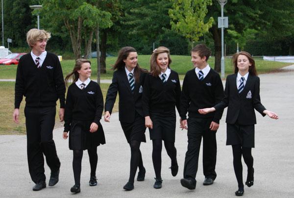 英国的校服