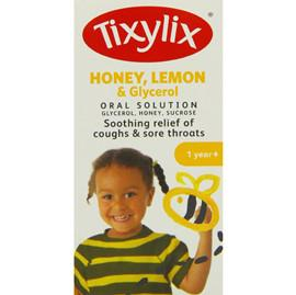 Tixylix Honey, Lemon & Glycerol Oral Solution