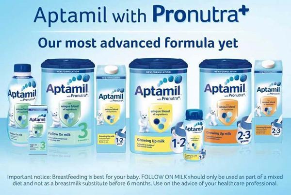 Aptamil 奶粉系列