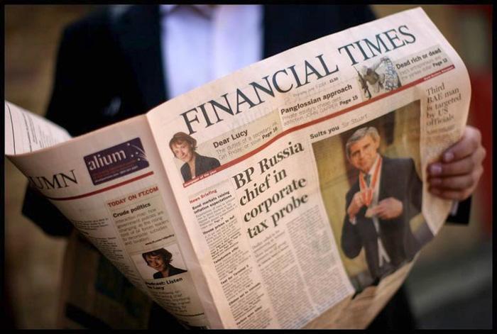 英国的主流报纸