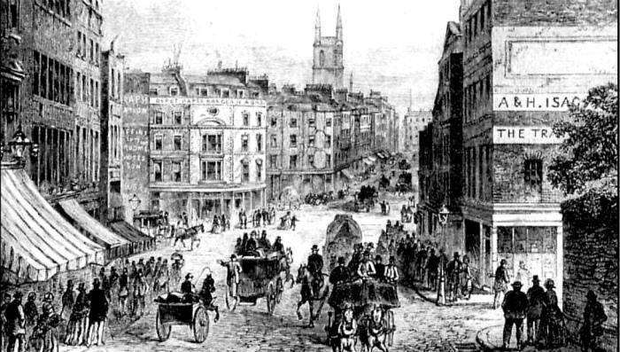 工业革命伦敦