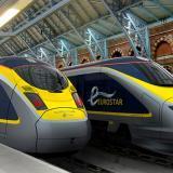 【Eurostar】穿越英吉利海峡的火车情结——欧洲之星高速列车