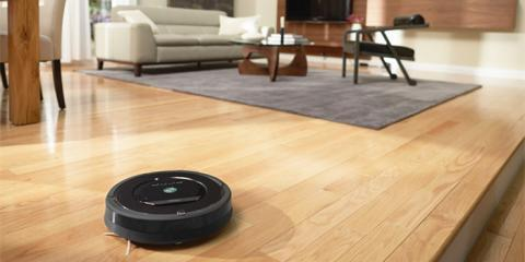 iRobot智能机器人吸尘器,扫地机中的战斗机