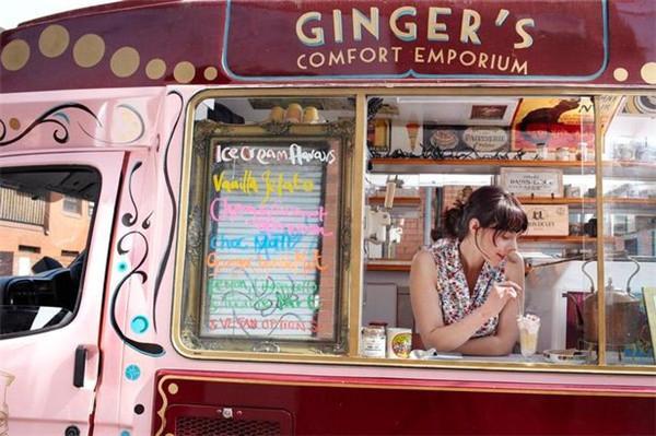 曼城冰淇淋店