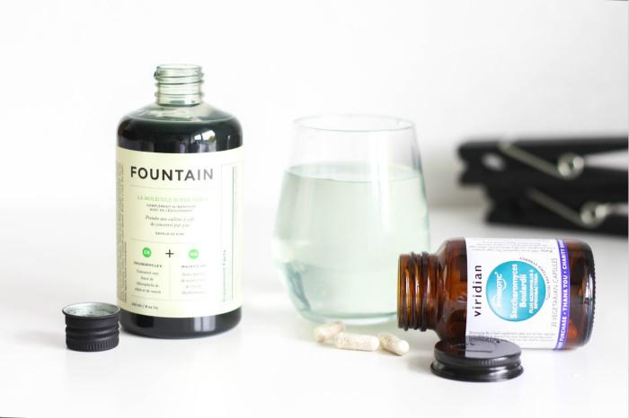 Fountain绿色分子口服液