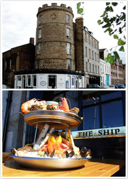 爱丁堡海鲜西餐厅推荐