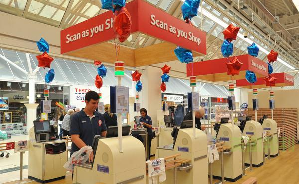 tesco的scan as you shop怎么用