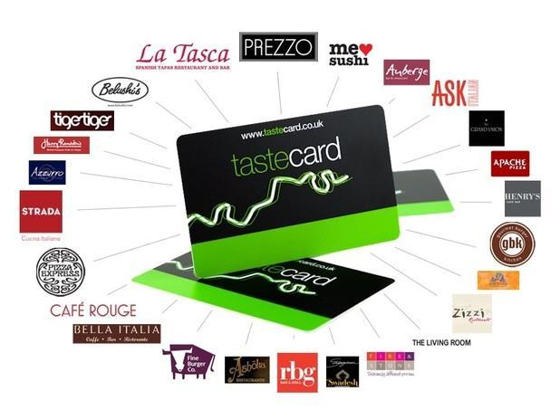 Taste Card打折卡