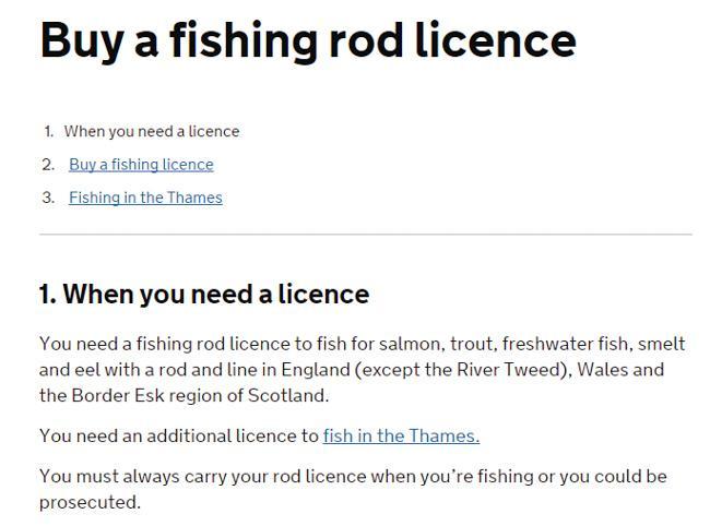 英国钓鱼执照