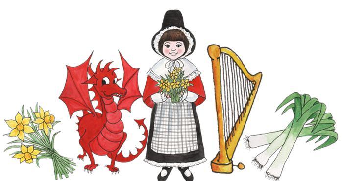 威尔士的象征
