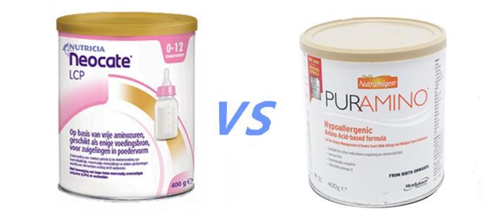 抗过敏奶粉对比