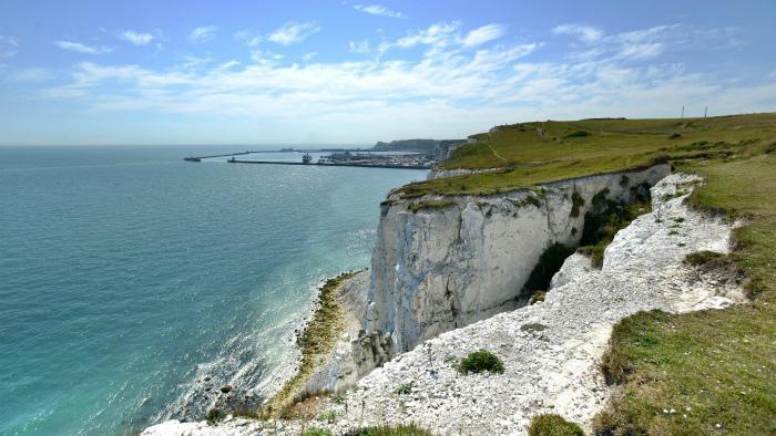 白岩崖(White Cliffs of Dover)