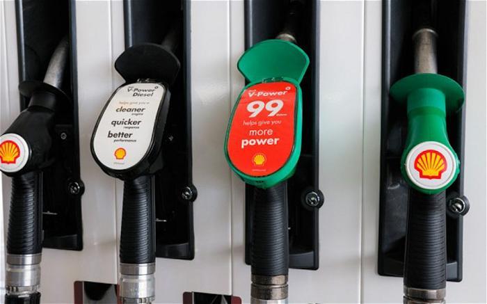 英国的加油站