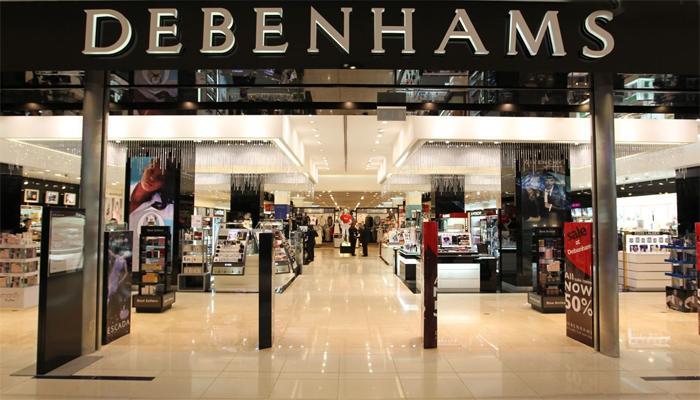 Debenhams百货商场