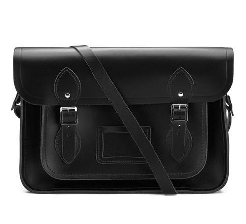 The Cambridge Satchel Company 11 Inch(剑桥包11寸经典挎包黑色)