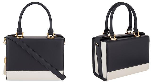 AME MOI Mini lisbon leather cross-body bag