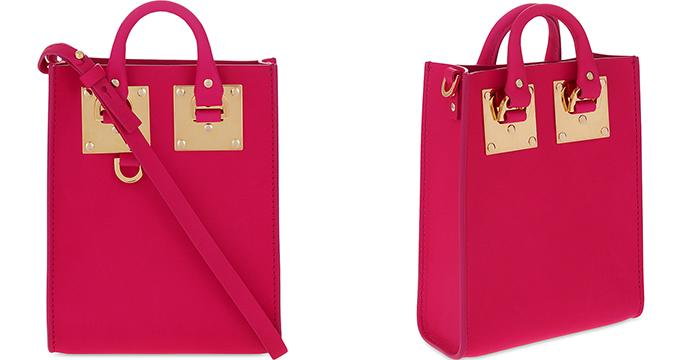 SOPHIE HULME Albion nano leather cross-body bag