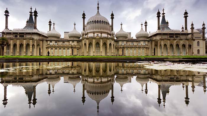The Royal Pavilion,Brighton(布莱顿皇家行宫)