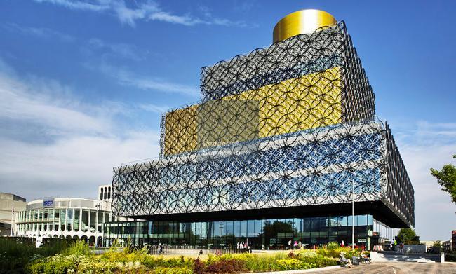 The new library of Birmingham, Centenary Square, Birmingham, West Midlands, England, UK
