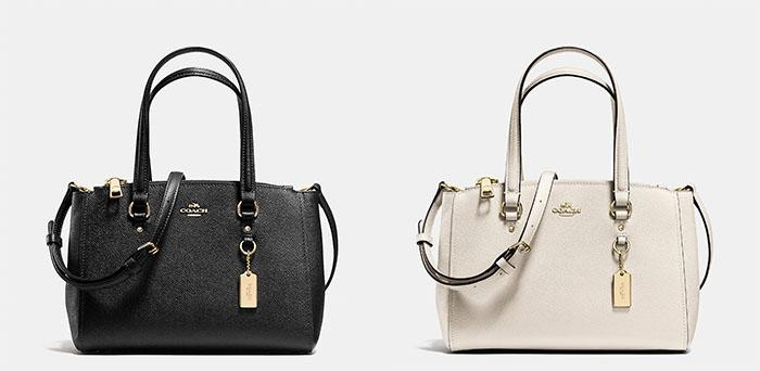Coach Stanton Carryall in Crossgrain Leather