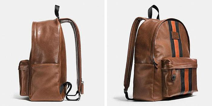 Coach Modern Varsity Campus Backpack in Sport Calf Leather