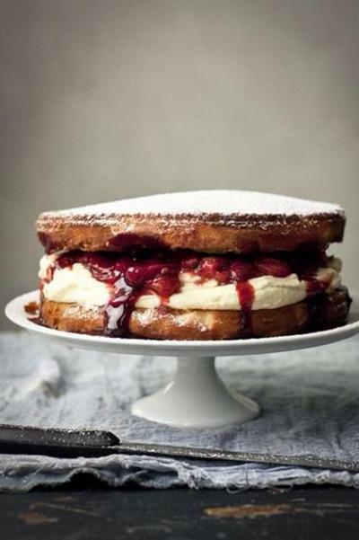 维多利亚海绵蛋糕