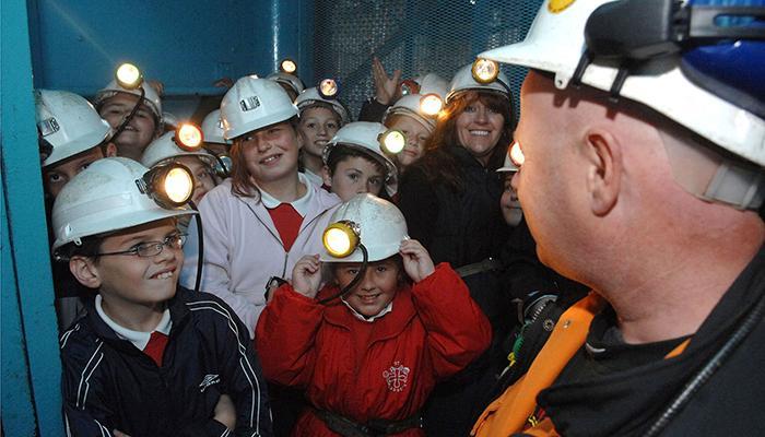 大矿井地下游览