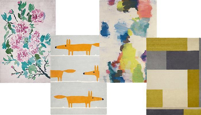John Lewis个性花纹地毯