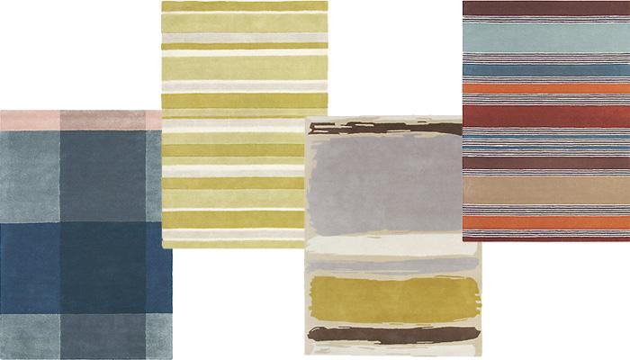John Lewis简约条纹地毯