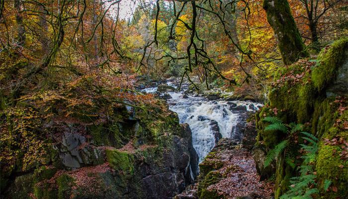 隐士瀑布(The Hermitage Waterfall)