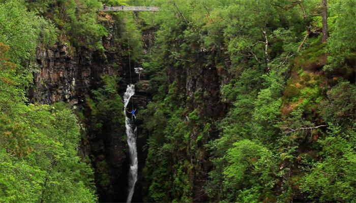 科里沙洛克大峡谷(Corrieshalloch Gorge)