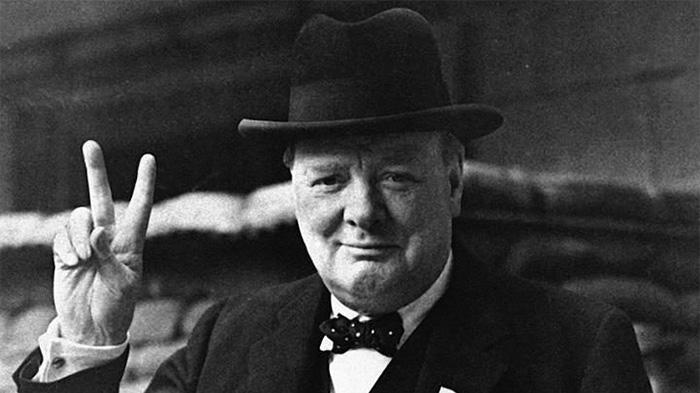 英国首相丘吉尔Winston Churchill