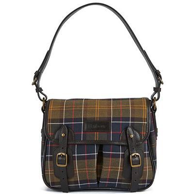 Barbour Tartan Mini Tarras Shoulder Bag-Classic Tartan