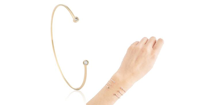 Astrid & Miyu Aries Zodiac Bangle