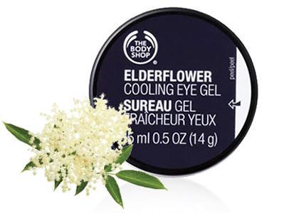 美体小铺接骨木花眼胶(The Body Shop Elderflower Cooling Eye Gel )