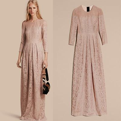 Burberry Italian Lace Dress