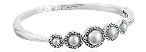 Kate Spade New York Grey/Multi-Colored Bangle Bracelet