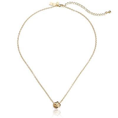 "Kate Spade New York ""Dainty Sparklers Knot"" Pendant Necklace"