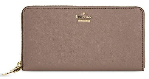 Lacey Leather Continental Wallet