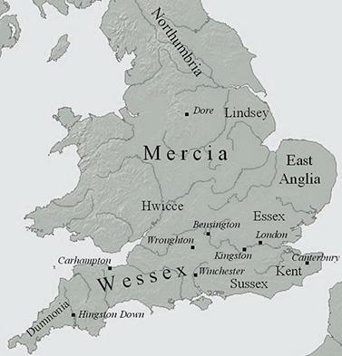 撒克逊七国时代之:一统乱世的威塞克斯王国
