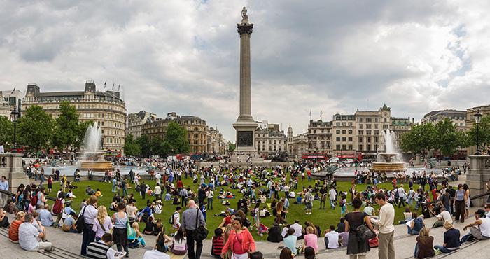 特拉法加广场(Trafalgar Square)