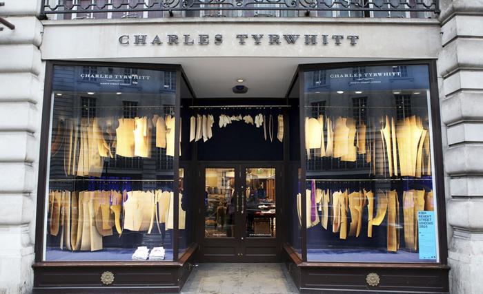 Charles Tyrwhitt Bureau de Change设计