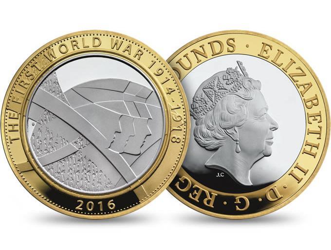第一次世界大战纪念币