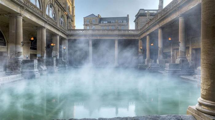 巴斯罗马大浴池