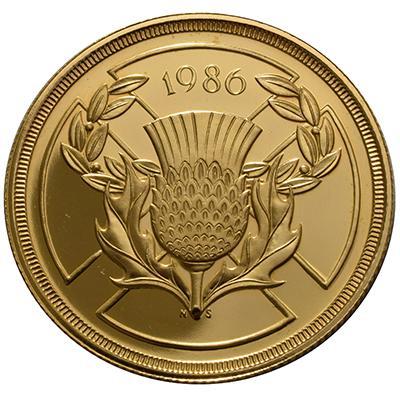 1986年发行的2镑硬币