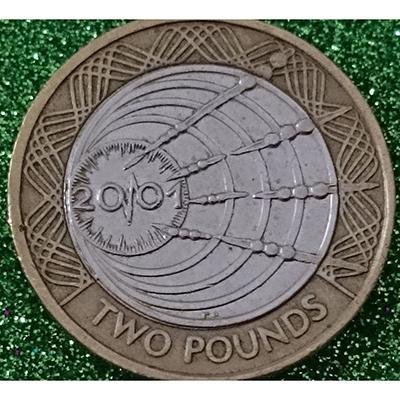 2001年发行的2镑硬币
