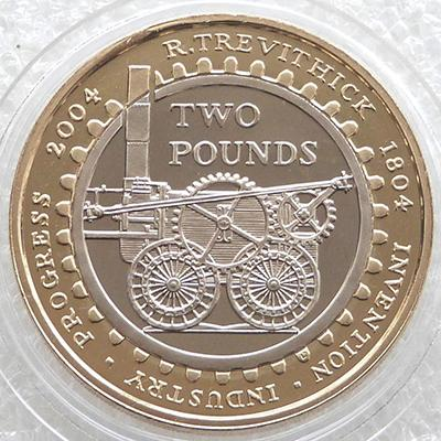 2004年发行的2镑硬币