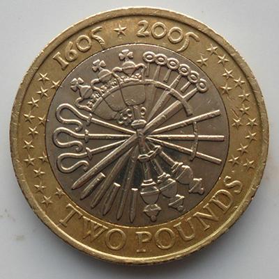 2005年发行的2镑硬币